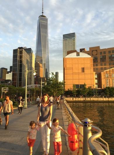 Pier 25 in Tribeca