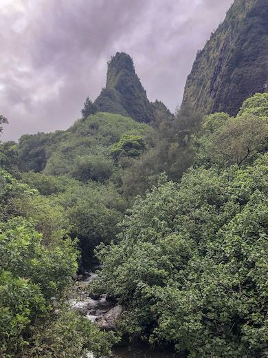 The needle at 'Iao Valley State Park