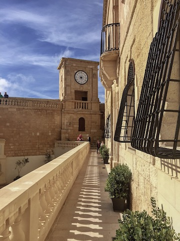 The Cittadella of Victoria on the island of Gozo, one of the many Malta attractions