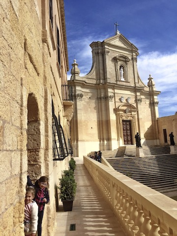 The Cittadella of Victoria on Gozo, one of many Malta tourist attractions