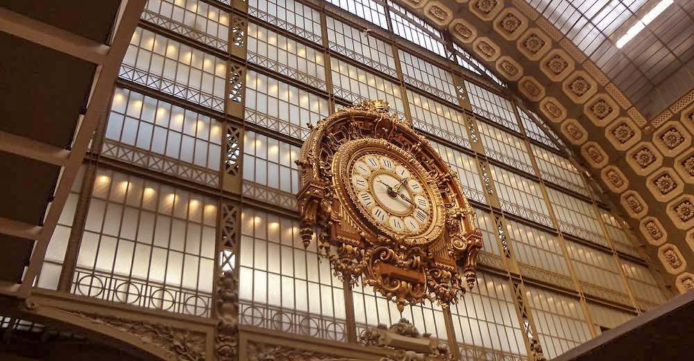 The Clock at the Orsay Museum in Paris, a must-see during your 4 days in Paris