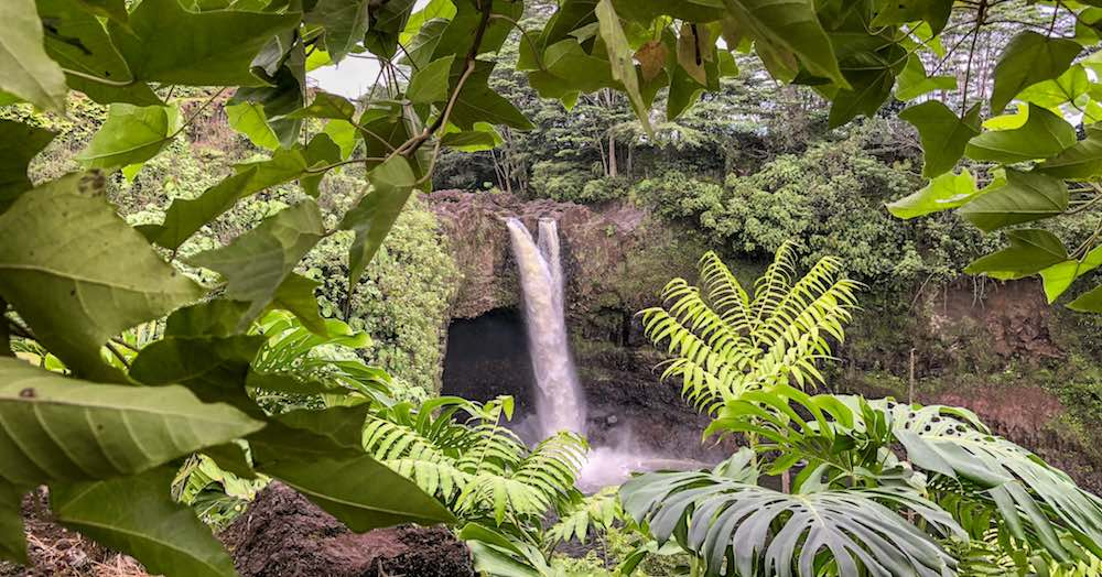 A visit to Rainbow falls is one of the essential and free things to do in Hilo Hawaii