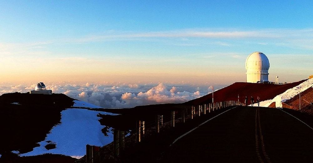 One of the ultimate Hilo Hawaii activities is stargazing at the top of Mauna Kea