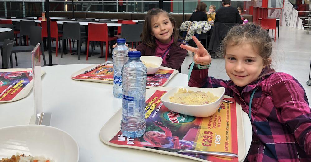 Lunchen in Comics Station Antwerp