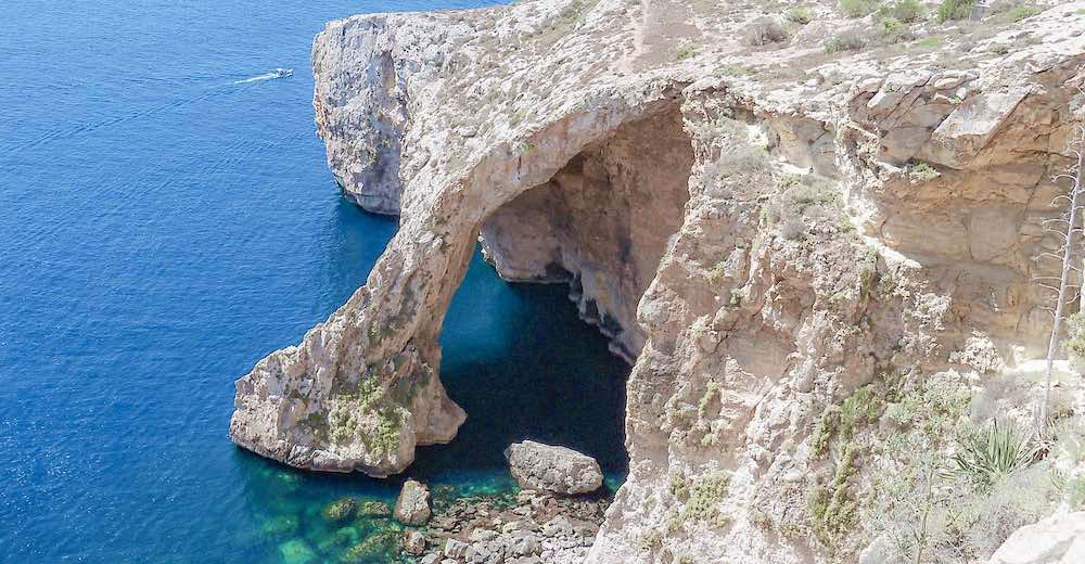 The Blue Grotto, one of the most stunning places to visit in Malta