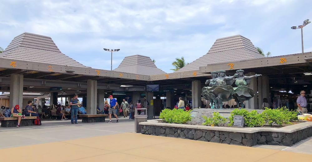Depending on where to stay on the Big Island Hawaii, you'll pass by Kona Airport