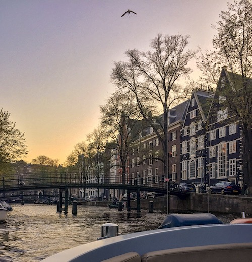 This open boat canal cruise is an Amsterdam must see