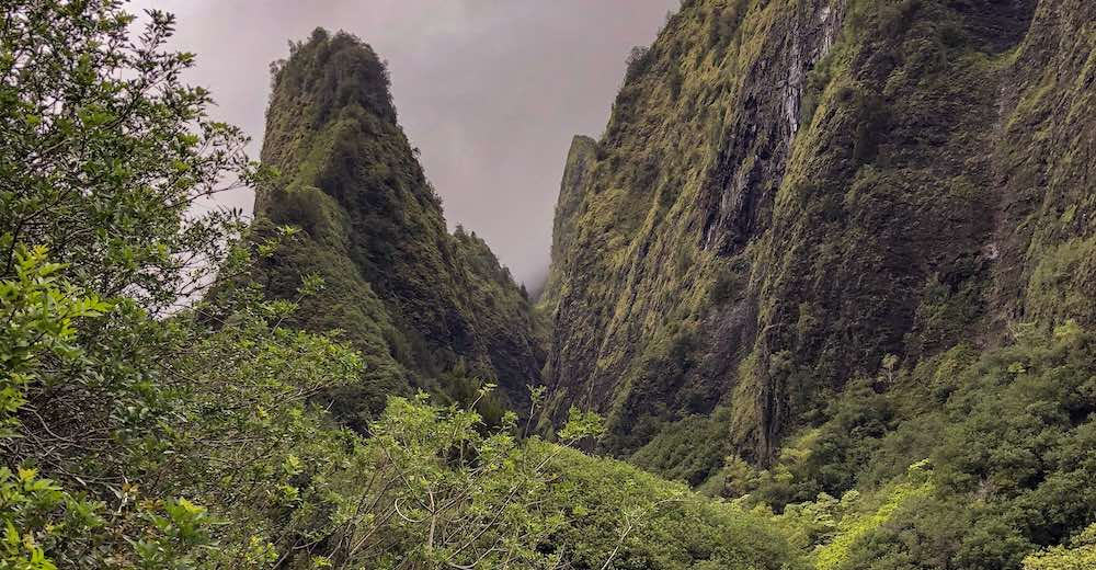 Mystic 'Iao Valley offers a one of the most mesmerizing easy hikes Maui
