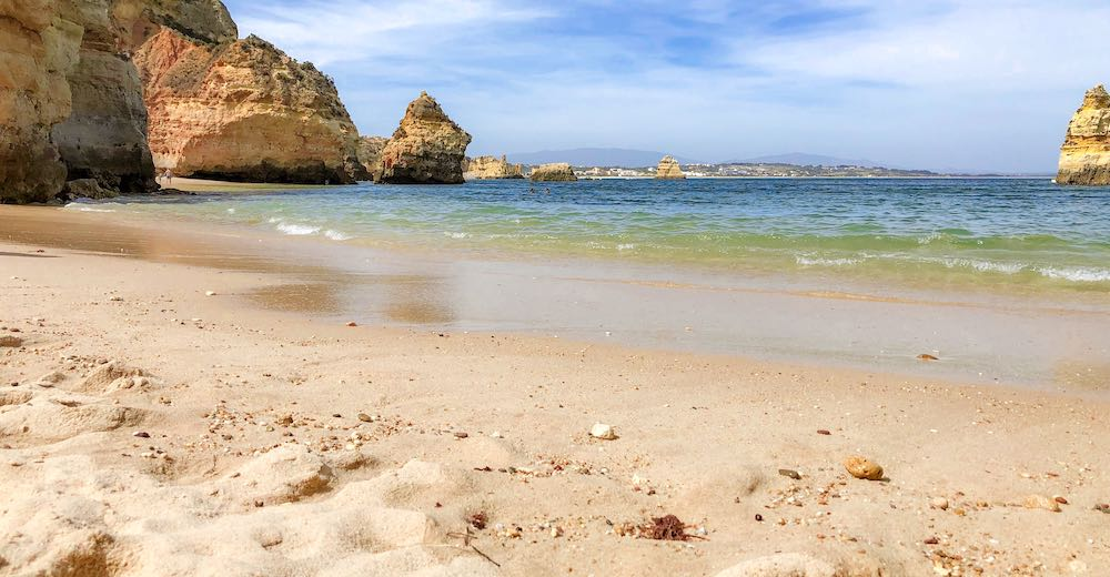 Praia do Camilo, one of the best beaches in Portugal