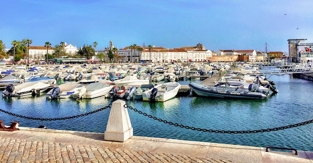 Faro makes for a great day trip from Lagos Portugal