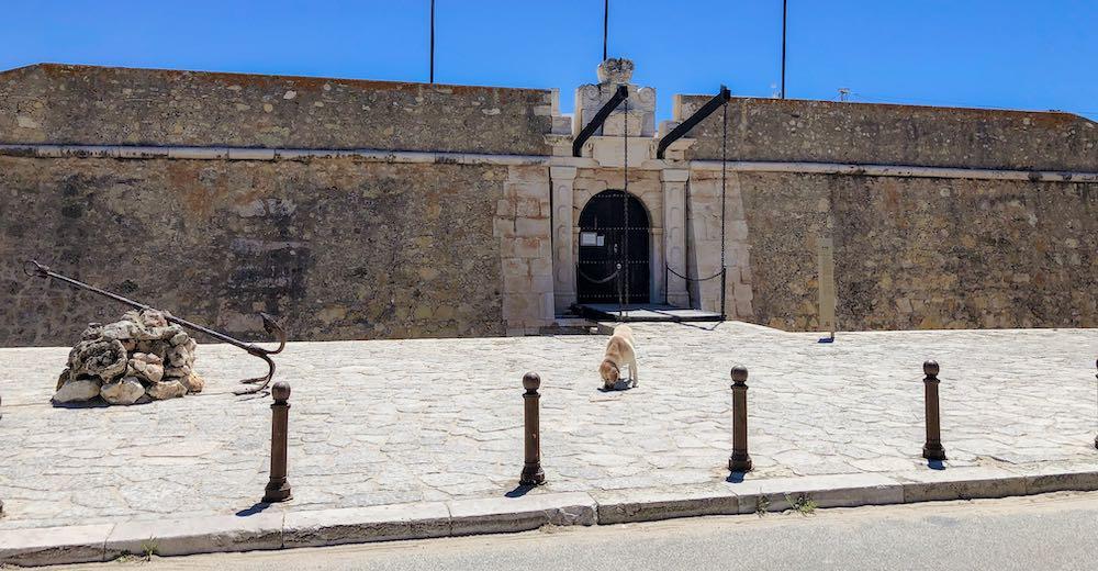 Forte Ponta da Bandeira in Portuguese Lagos