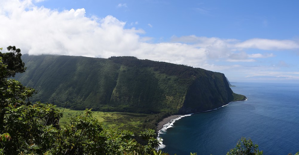Waipio Valley along the Hamakua coast offers one of the best hikes Big Island Hawaii