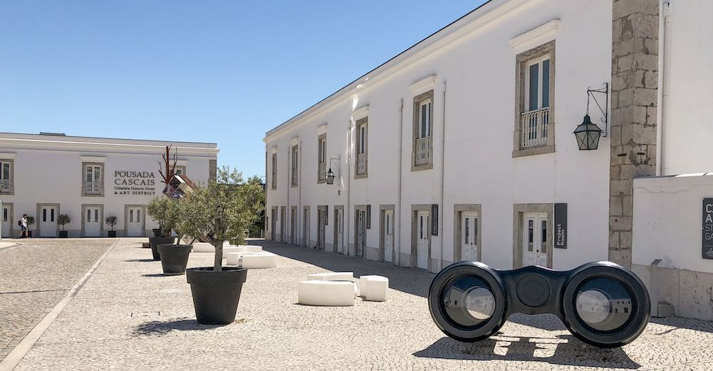 The Cidadela Art district is a must-see in Cascais Portugal