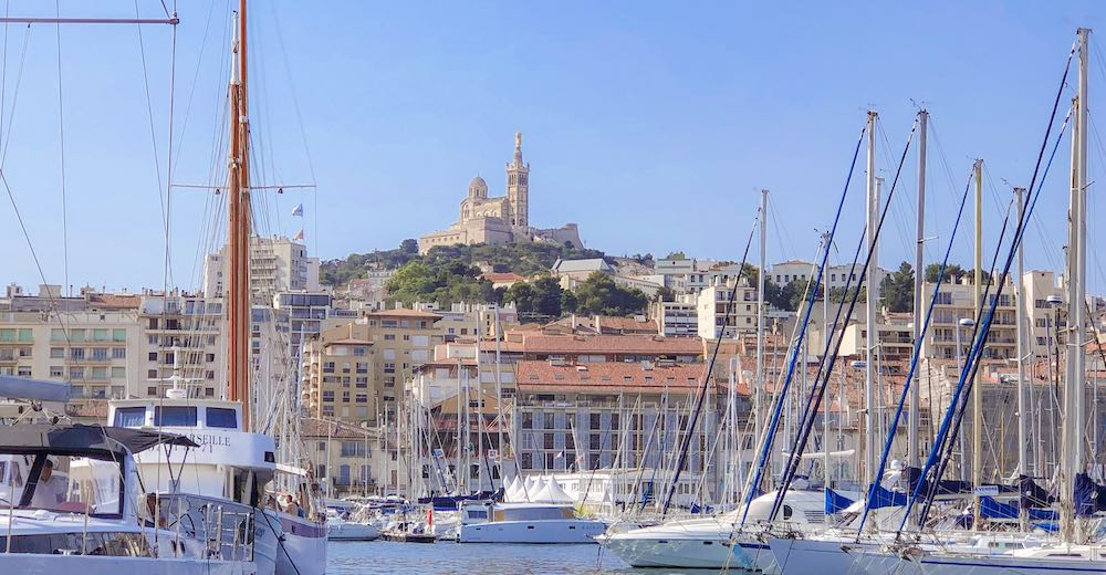 The Notre Dame de la Garde Basilic is one of the most famous buildings in France
