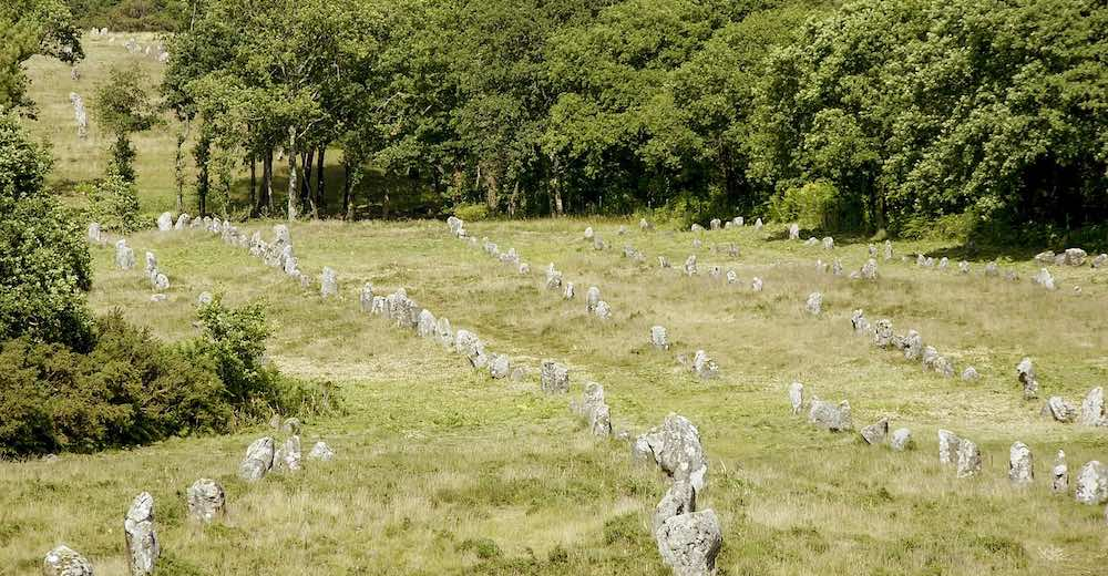 The Carnac alignments are among the most famous sites in France