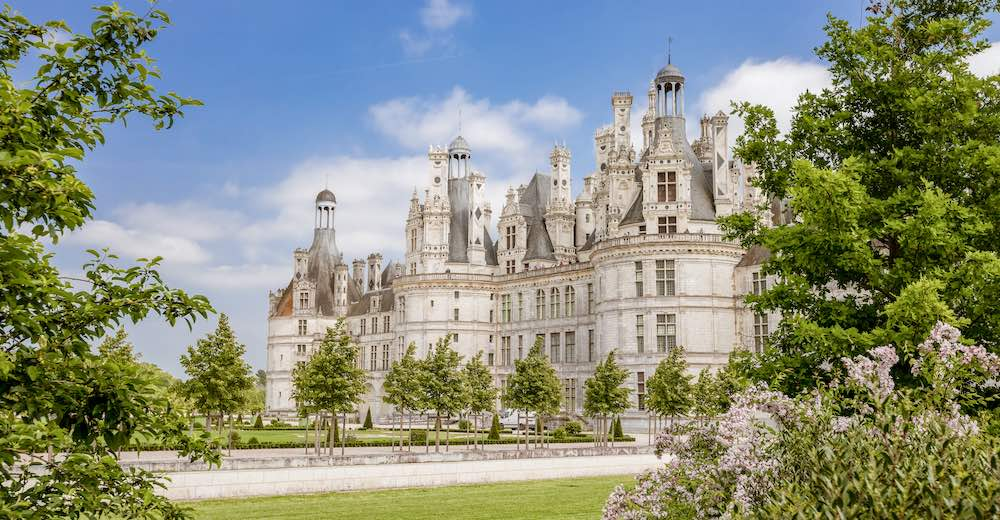The Loire castles are among the most famous French buildings
