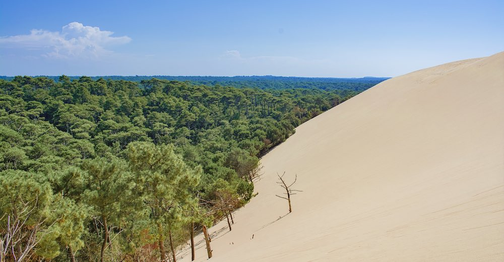 The Dune du Pilat is one of the most important landmarks in France