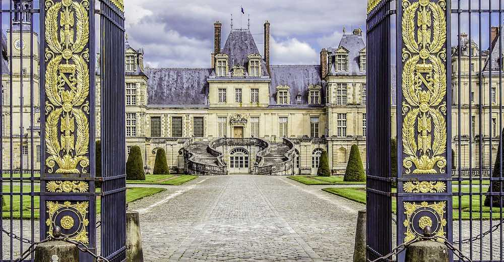 Fontainebleau Palace is one of the most famous monuments in France
