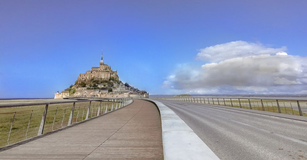 The Mont Saint Michel is number four in this landmarks in France list