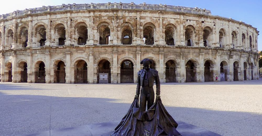 The Arena in Nimes is one of the most important buildings in France