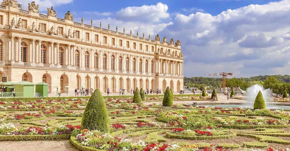 The Palace of Versailles is one of the most famous France landmarks