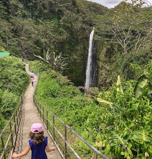ʻAkaka Falls State Park Big Island waterfalls