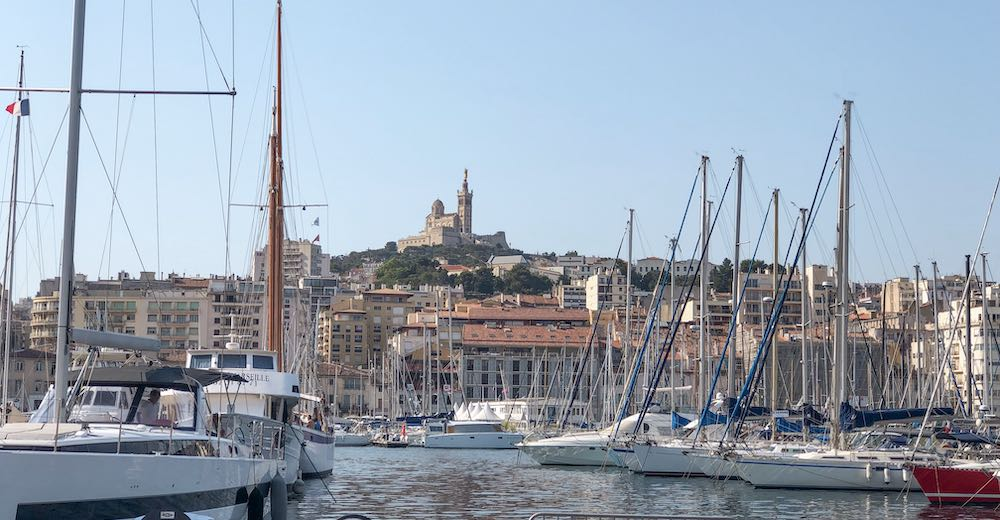 Marseille makes for a great day trip destination from St Tropez