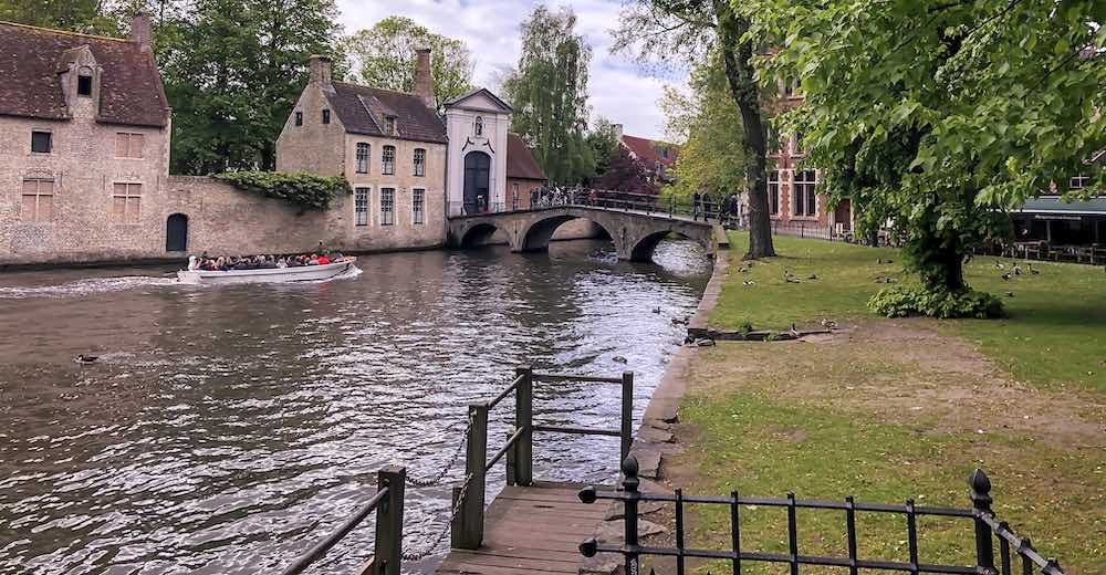 Minnewater will be a third location for the Bruges Christmas market 2019