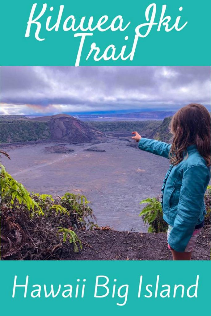 The complete guide to hiking the Kilauea Iki Trail in Volcanoes National Park on Big Island Hawaii. #Hawaii #BigIsland #Hiking