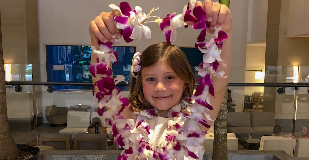 Being gifted a lei counts as one of the most enchanting facts about Hawaii