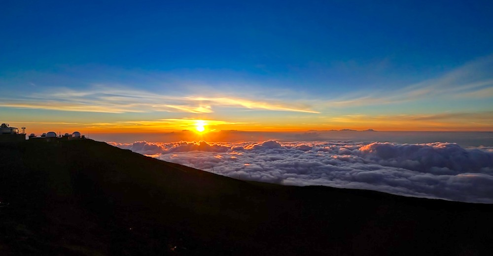 One of the most exciting facts about Hawaii is that Haleakala is the largest dormant volcano in the world