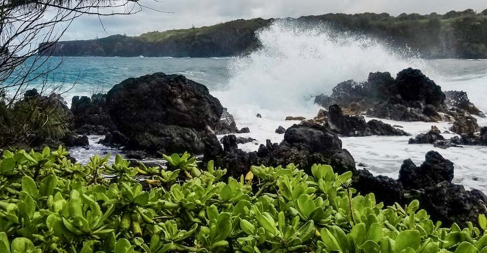 Honomanu Bay is one of the best stops on the Road to Hana