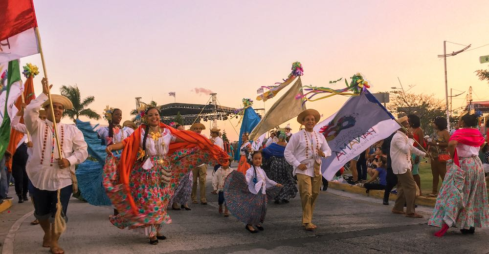 Attending carnival is one of the best Panama activities during winter season