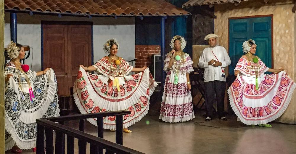 Attending a folkloric show is one of the main Panama City tourist attractions