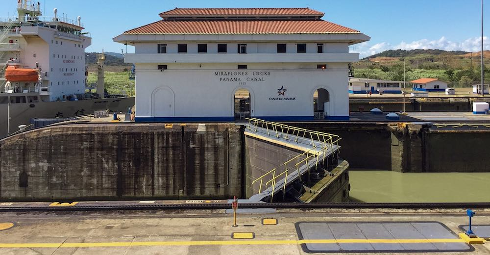 A visit to the Miraflores docks at the Panama canal is one of the essential things to do in Panama City Panama
