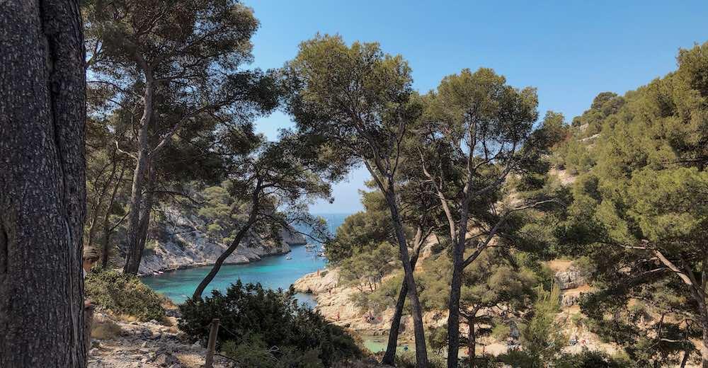 Calanque de Port-Pin near Cassis Provence