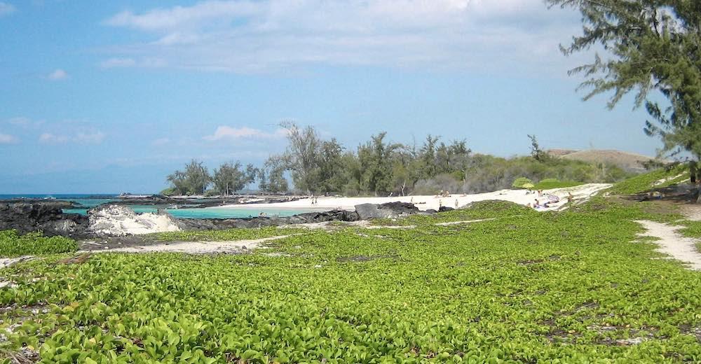 The Kekaha Kai beaches are said to be the most beautiful beaches on the Big Island