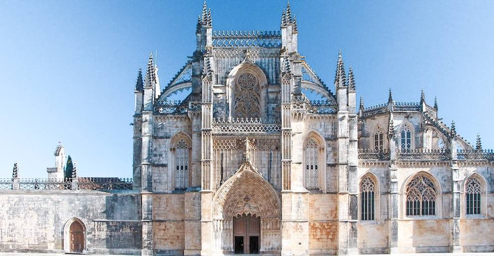 The Batalha monastery is one of the Portugal places to visit