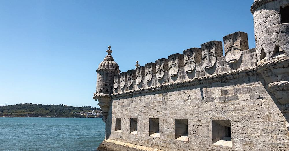 The Belem tower is one of the best Portugal places to visit