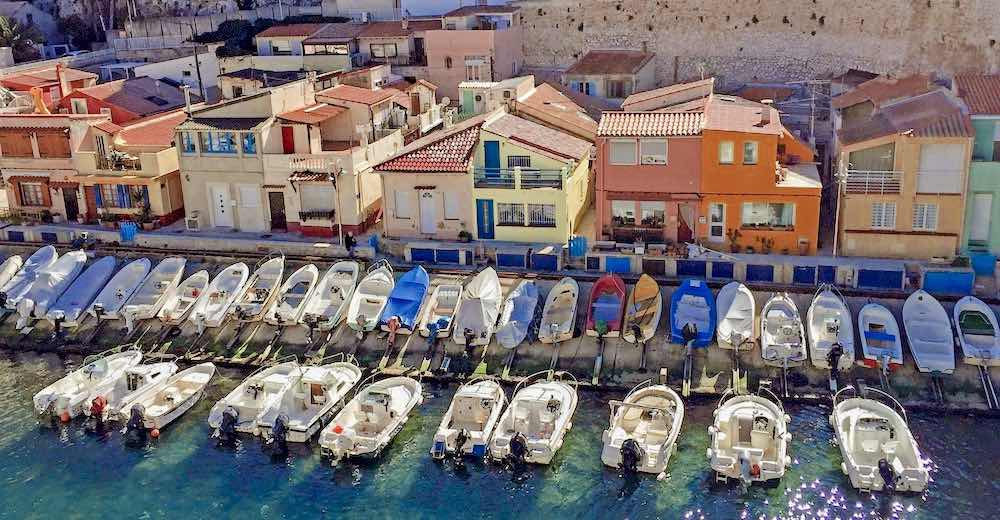 Visiting the picturesque port of Vallon des Auffes is one of the top things to do in Marseille France