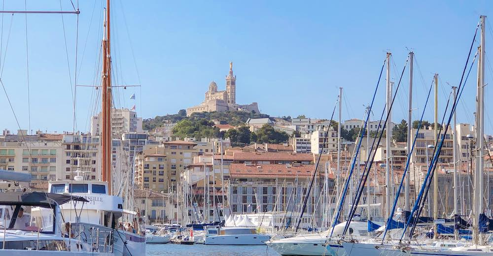 The Old Port of Marseille is one of the top attractions in Marseille France