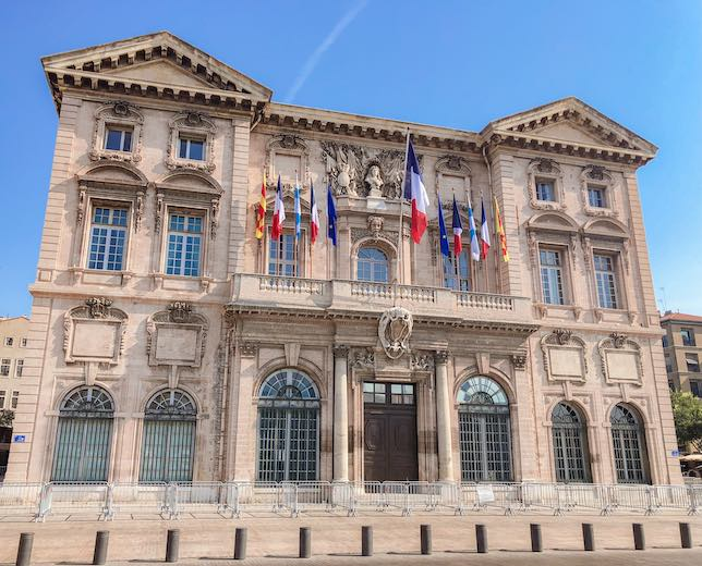 Town Hall of Marseille the oldest city in France