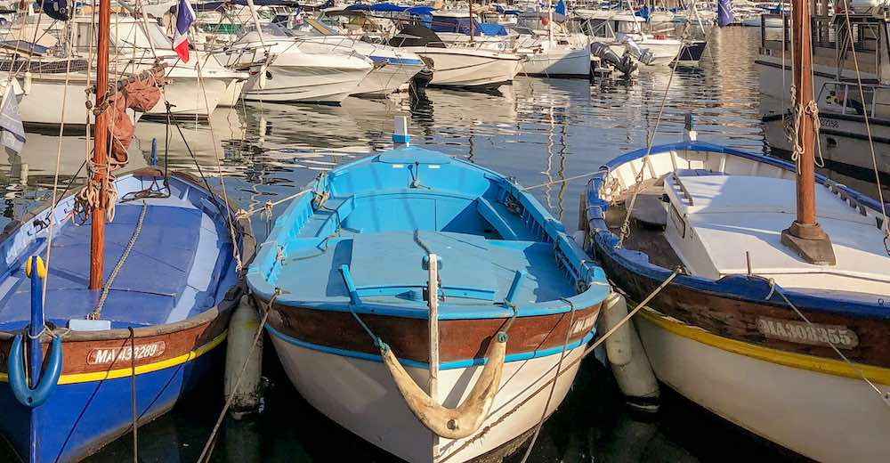 Fishing boats in the Vieux Port, the best place to see in Marseille