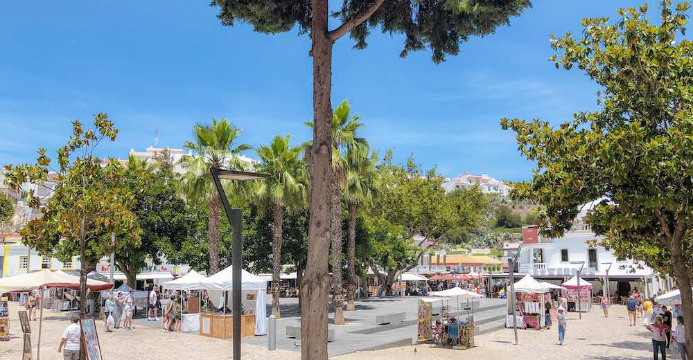 Old town Albufeira is one of the best places to stay Algarve Portugal for party people