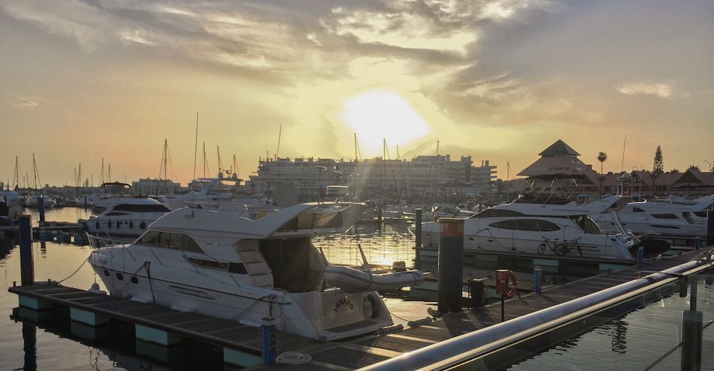 If you're wondering where to go in Algarve for some exclusivity then Vilamoura with its fancy marina is an excellent choice