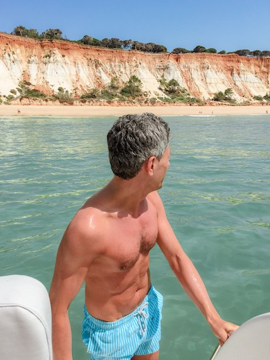 Our Algarve accommodation helped us find this yacht charter allowing us to explore the coastline