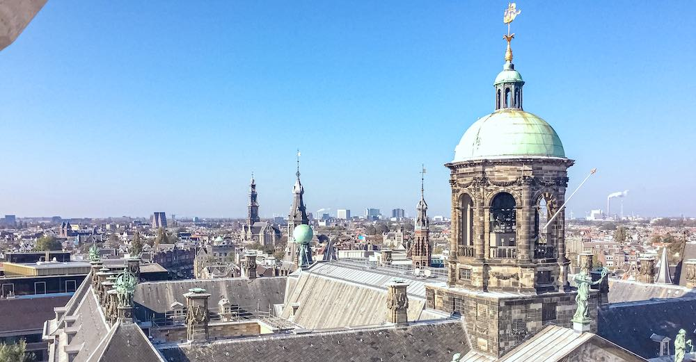 The Royal Palace should be included in every Amsterdam itinerary 2 days