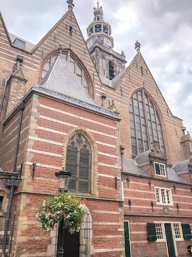 St Jan's church in Gouda Netherlands