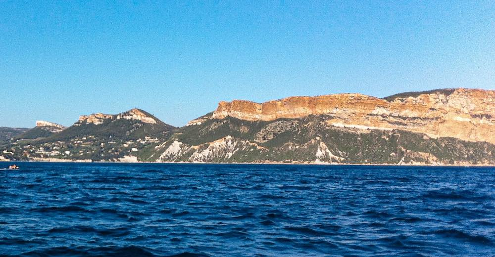 Cap Canaille offers the most beautiful scenery near Cassis France