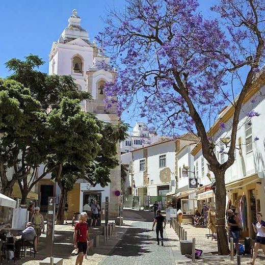 Taking a day trip to Lagos Portugal is one of the recommended things to do Faro Algarve